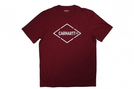 CARHARTT Koszulka Diamond T-Shirt Varnish/White