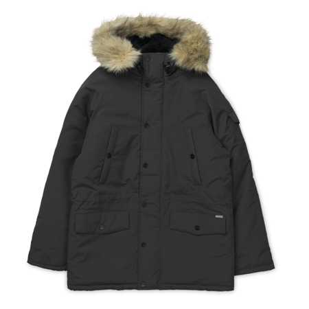 Carhatt Kurtka Anchorage Parka Black/Black - FW20