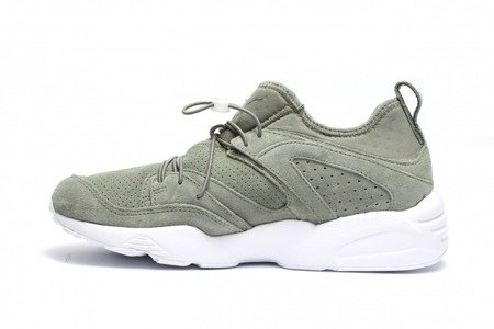 PUMA Buty Blaze Of Glory Soft Agave Green/White