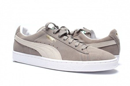 PUMA Buty Suede Classic + Steeple Gray/White