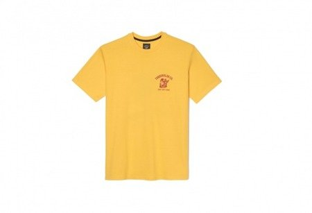 TURBOKOLOR Koszulka Peace T-Shirt Yellow - FW17