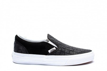 VANS Buty Classic Slip-On (Suede Checkers) Black